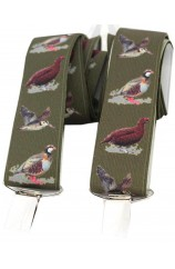 Soprano Country Birds Green 35mm X Style Braces