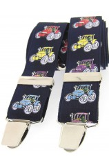 Soprano Multicoloured Tractors 35mm X Style Braces