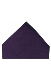Soprano Luxury Purple Satin Silk Hanky