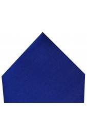 Soprano Luxury Royal Blue Satin Silk Hanky