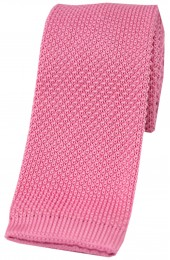 Soprano Pink Knitted Polyester Tie