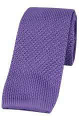 Soprano Lilac Knitted Polyester Tie