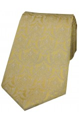 Soprano Limited Edition Gold Edwardian Wallpaper Silk Tie
