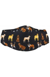 Variety of Dogs 100% Cotton Washable And Reusable Face Mask