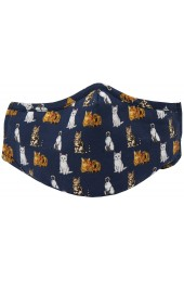 Variety of Cats 100% Cotton Washable And Reusable Face Mask