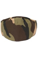 Camouflage 100% Cotton Washable And Reusable Face Mask