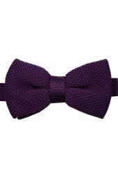 Soprano Cadburys Purple Knitted Polyester Bow Tie