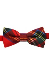 Soprano Red Royal Stewart Tartan Bow Tie