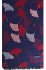 Erwin & Morris Multi Coloured Flowers Scarf Supplied In A Gift Box
