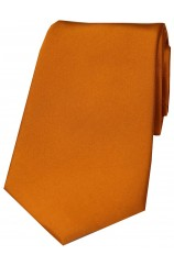 Soprano Copper Satin Silk Tie