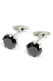 Black Crystal Posh and Dandy Cufflinks