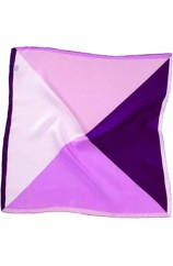 Soprano 4 Colour Pink Mens Silk Pocket Square