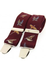 Soprano Country Birds Wine 35mm X Style Braces