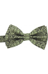 Soprano Edwardian Influenced Tone On Tone Camel Woven Silk Bow Tie