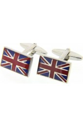 Soprano Enamelled Union Jack Cufflinks