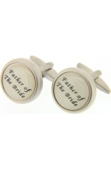 Soprano Father Of The Bride Enamelled Cufflinks