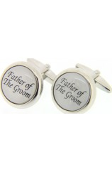Soprano Father Of The Groom Enamelled Cufflinks