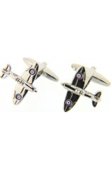 Soprano Finely Detailed Spitfire Cufflinks