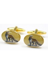 Soprano Fox Country Cufflinks