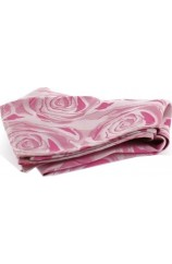 Soprano Fuchsia Rose Mens Silk Pocket Square