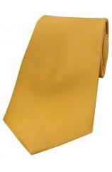 Soprano Gold Satin Silk Tie