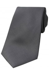 Soprano Grey Tonic Silk Tie