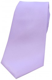Soprano Light Lilac Satin Silk Tie
