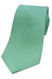 Soprano Mint Satin Silk Tie