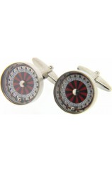 Soprano Roulette Wheel With Moving Parts Cufflinks