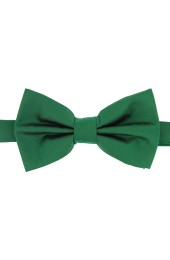 Soprano Satin Silk Emerald Luxury Bow Tie