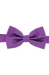 Soprano Satin Silk Lilac Luxury Bow Tie