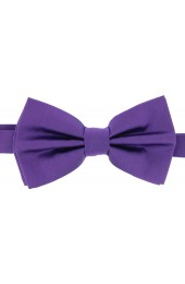 Soprano Satin Silk Purple Luxury Bow Tie
