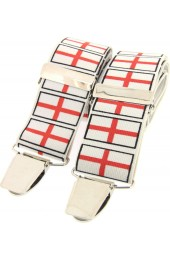 Soprano St George Flag 35mm X Style Braces