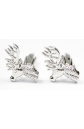 Soprano Stags Head Mens Cufflinks