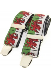 Soprano Welsh Dragon 35mm X Style Braces