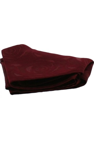Soprano Wine Rose Mens Silk Pockt Square
